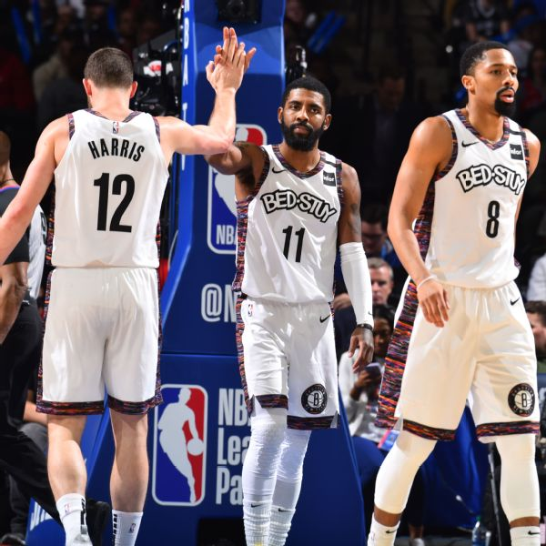 Kyrie talked to teammates after listing Nets core