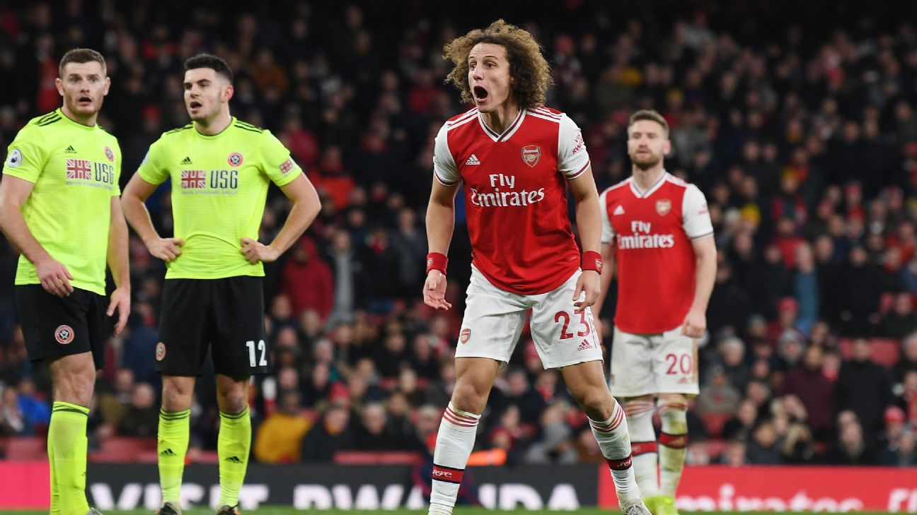 Arsenal suffer already seen vs Sheffield United as the brilliant attack dropped by unreliable defence - ENGLISH FOOTBALL 1