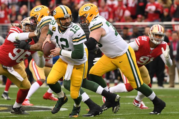 Packers' title window still open, Rodgers says