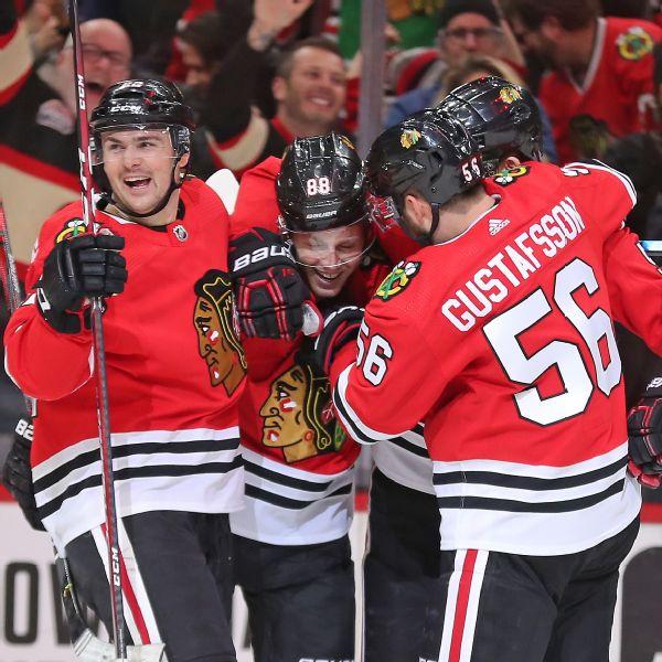 Read: Kane reaches 1,000 points as Blackhawks cruise