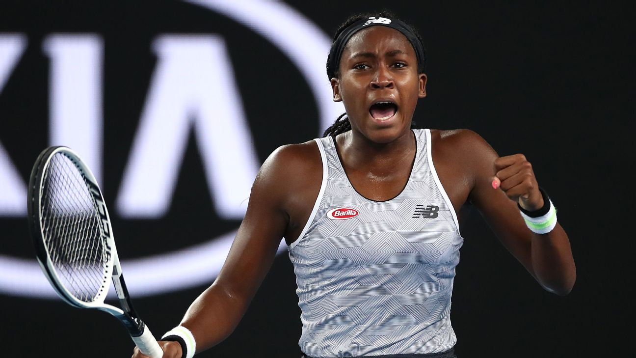 Coco Gauff bests Venus Williams again in opener at Australian