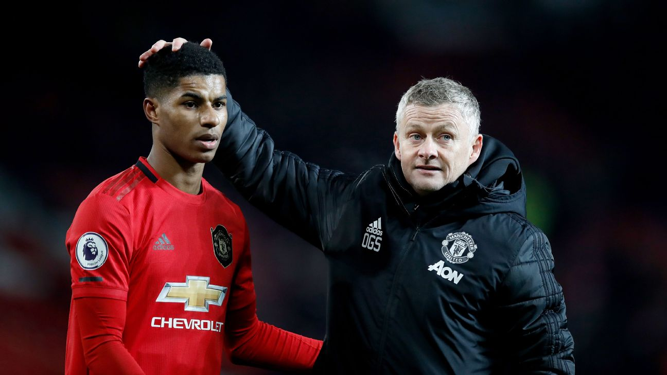 Man United Rashford a doubt for Euro 2020 - Solskjaer - ENGLISH FOOTBALL 1