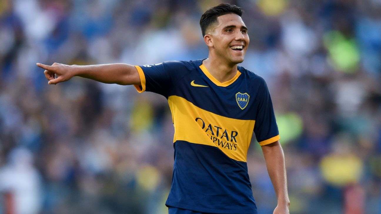 Emanuel Reynoso of Boca Juniors is a transfer target of MLS club Minnesota United.