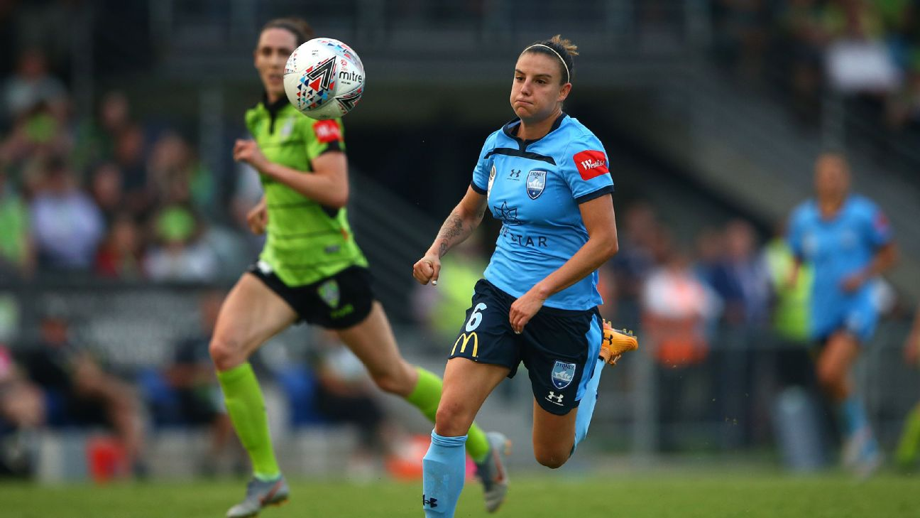 Chloe Logarzo has signed a deal that will see her move from Sydney FC to Bristol City.