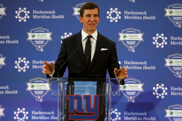Giants' Manning says farewell: 'I did it my way'