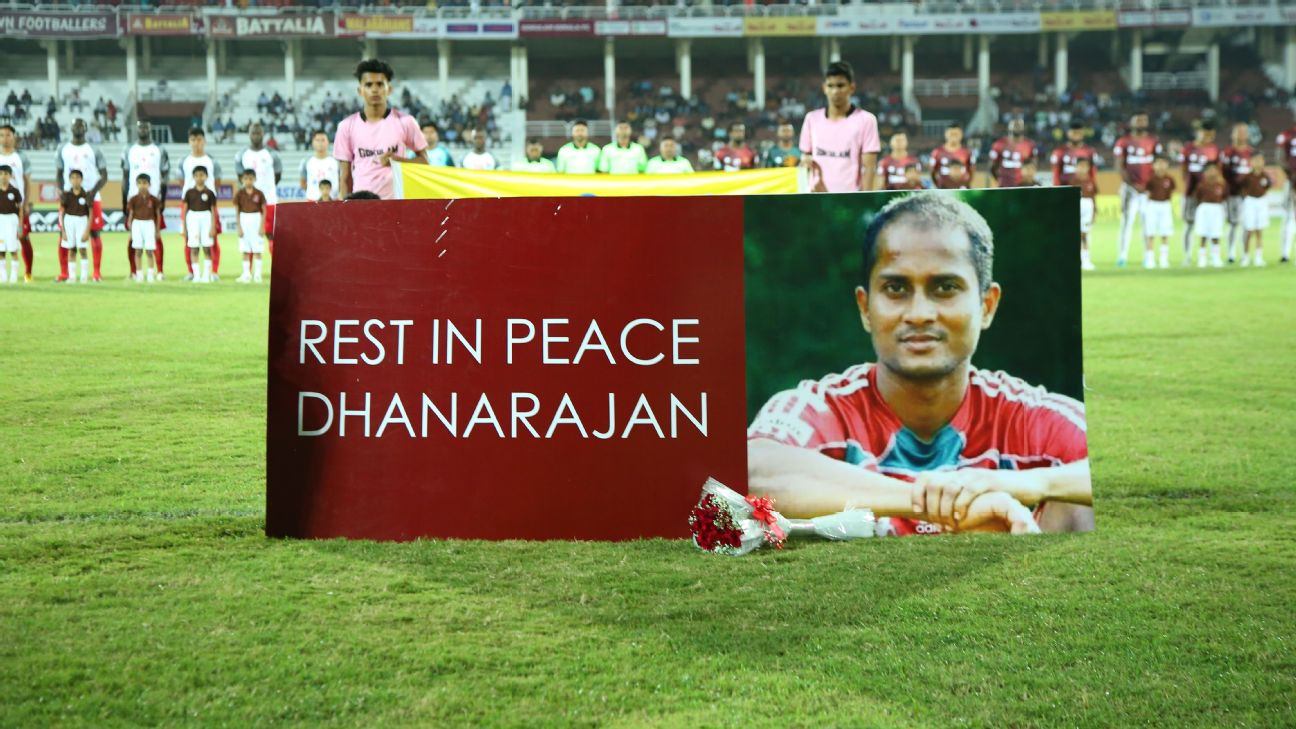Dhanarajan Radhakrishnan, once of Mohun Bagan, East Bengal, died in December 2019 after collapsing during a sevens match in Kerala.
