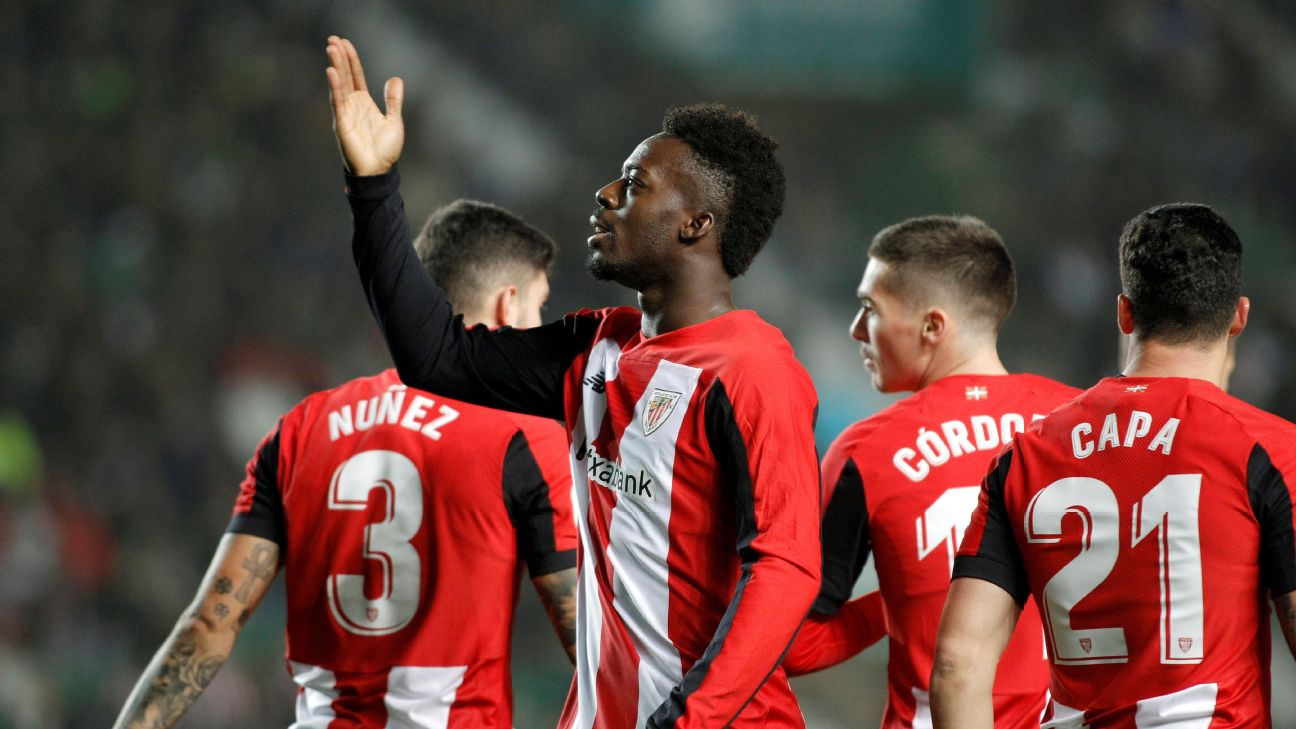 Athletic Club Bilbao's Spanish striker Inaki Williams was racially abused during a match against Espanyol.