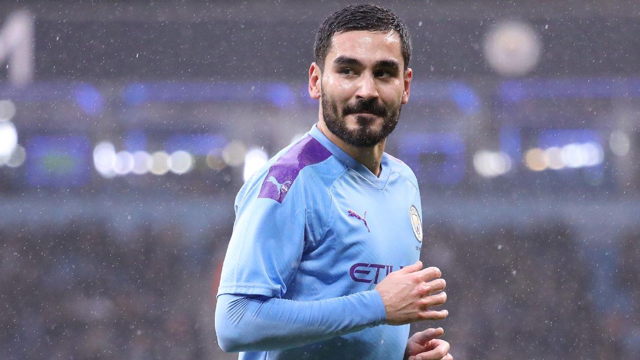 Ilkay Gundoga,Manchester City