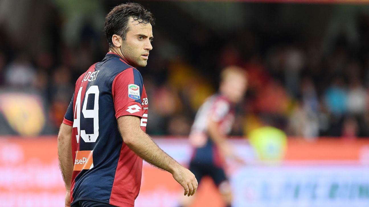 Giuseppe Rossi, Genoa