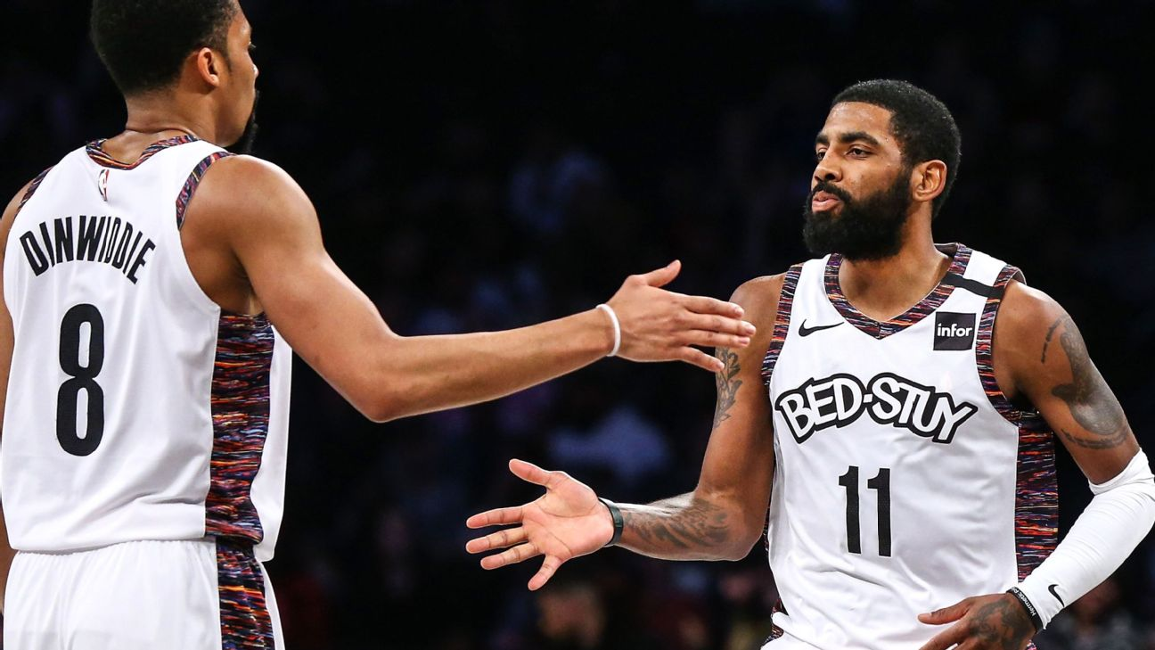 Kyrie Irving Returns Leads Nets Past Hawks