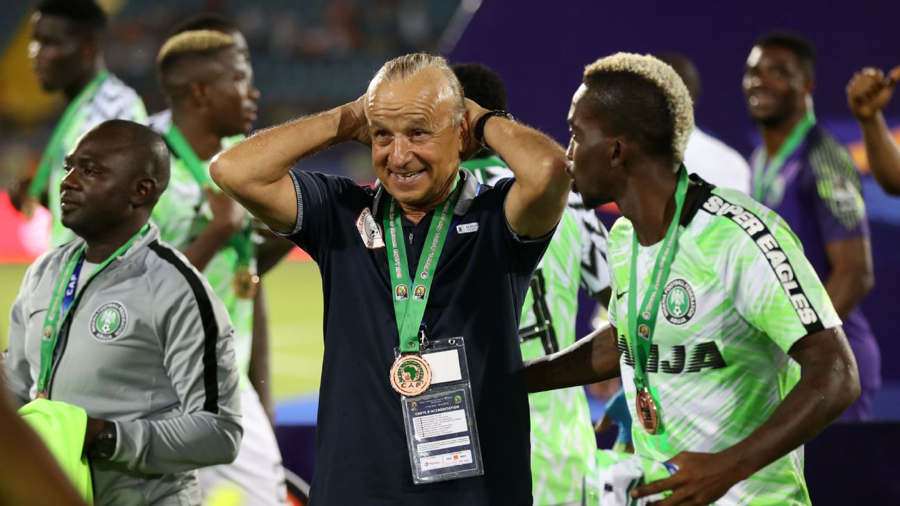 The relationship between the Nigeria Football Federation and coach Gernot Rohr has deteriorated.