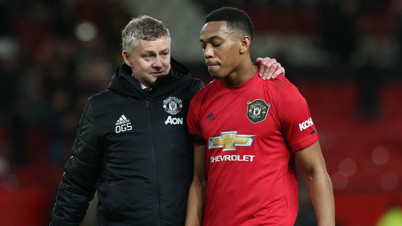 6/10 Martial isolated as Man United devoid of creativity in draw vs Wolves - ENGLISH FOOTBALL 1