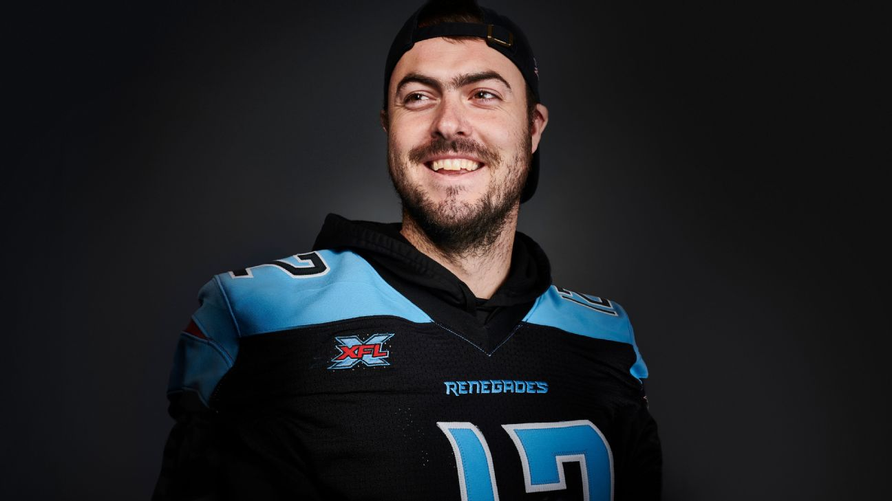 Landry Jones is the face of the XFL. But does he want to be?