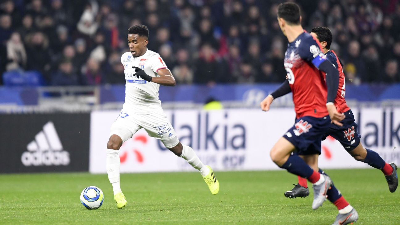 Lyon have come to the defence of Thiago Mendes, right, over reports he spends too much time out at night.
