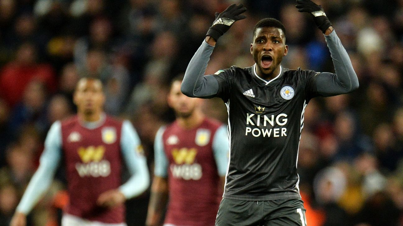Kelechi Iheanacho is enjoying a good run for Leicester and scored in the Carabao Cup semifinal second-leg match against Aston Villa.