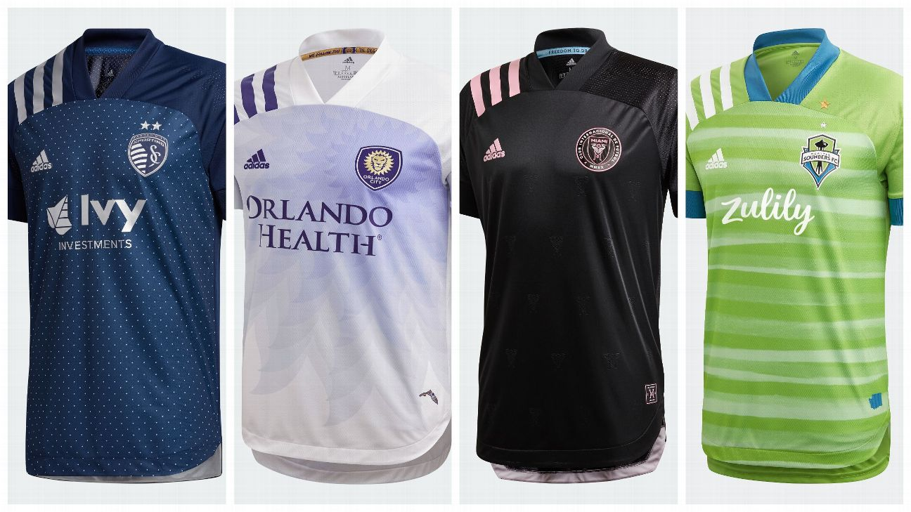 Ranking Mls New For 2020 Shirts From Sporting Kc S Polka Dots To Chicago S Standalone Look