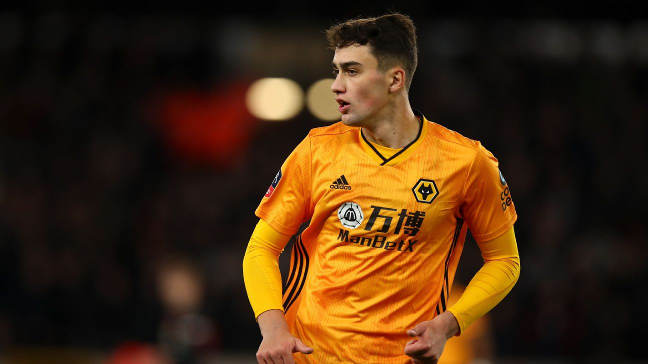 From futsal to the Premier League Max Kilman is just getting started at Wolves