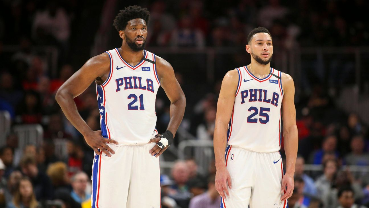 Sixers' Joel Embiid, Ben Simmons say their on-court success will come