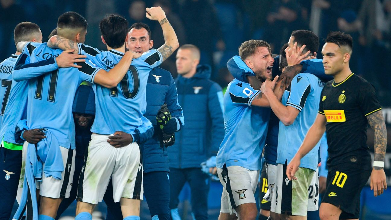 Lazio might be the front-runners to win Serie A this season