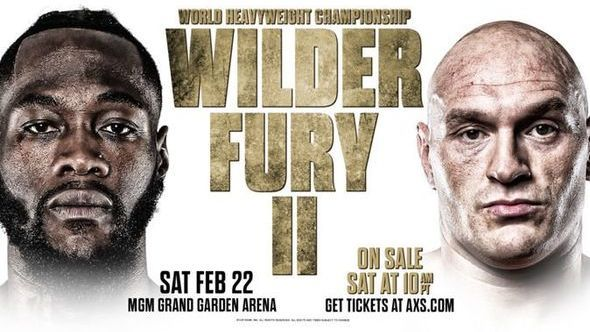 Wilder vs Fury 2