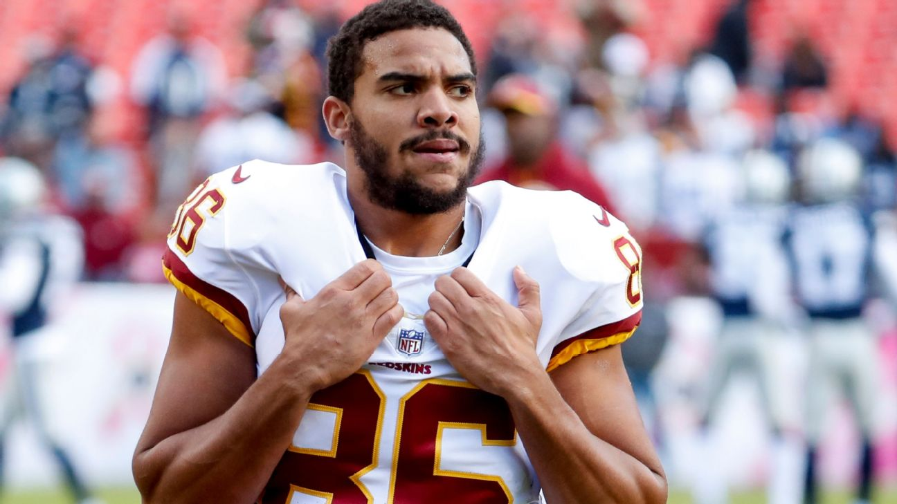 Jordan Reed retiring from NFL due to issues from concussions ...