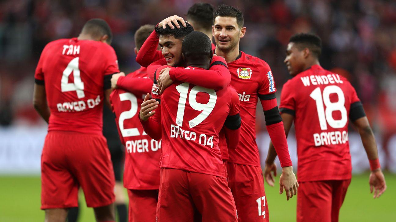 Nadiem Amiri, Bayer Leverkusen