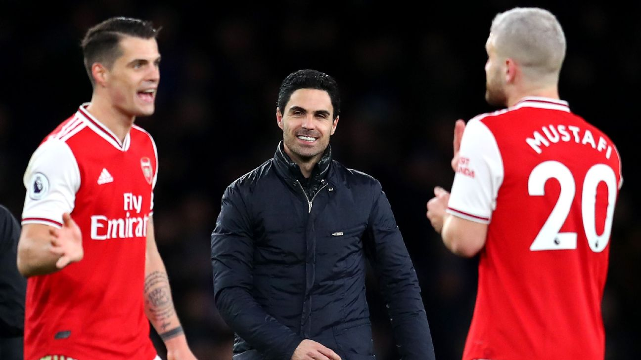 Arsenal, Arteta took time to mock, but this team goes places after clinging to beat Everton - ENGLISH FOOTBALL 1