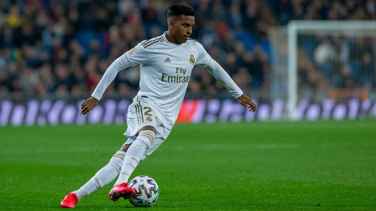 Real Madrid's Rodrygo will miss the Clasico against Barcelona after picking up a red card with the reserves.
