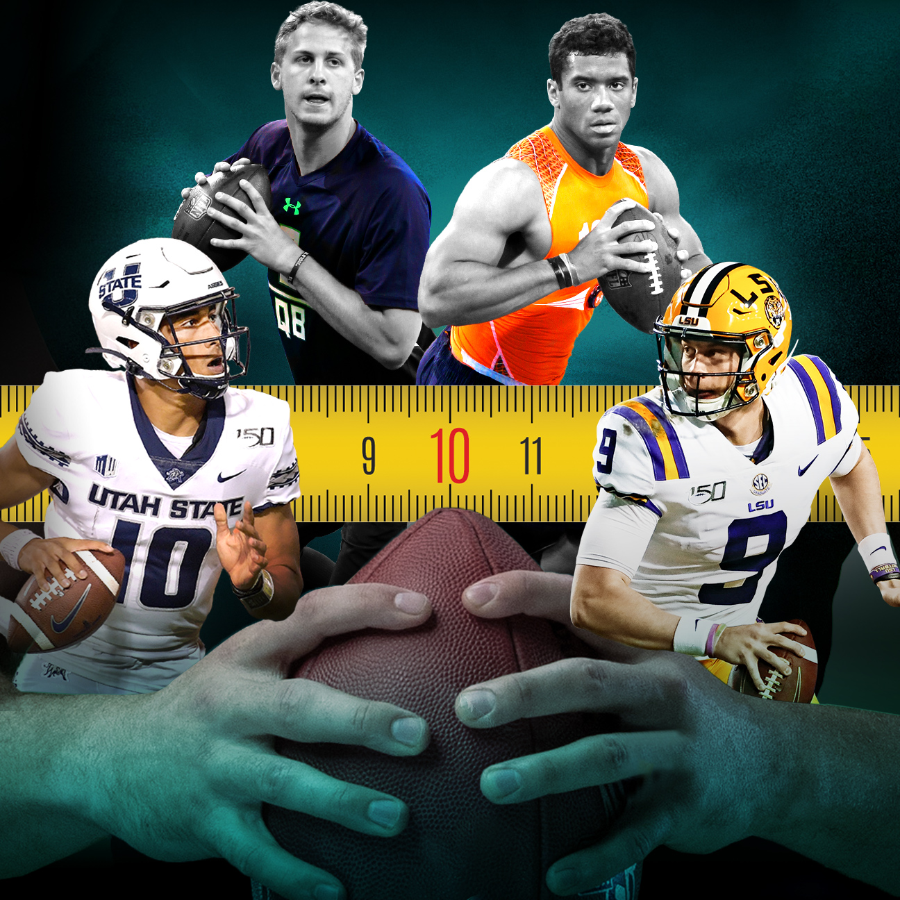 Joe Burrow's 9-inch hands mean nothing -- here's why NFL scouts care anyway