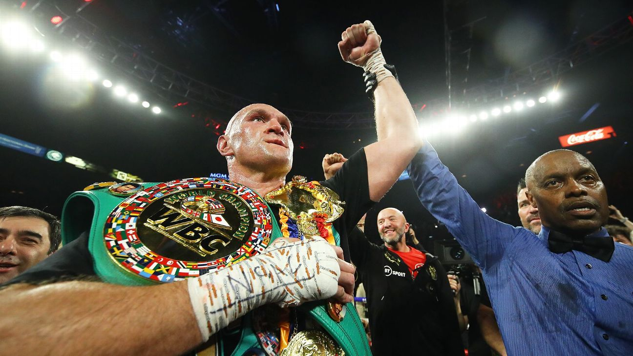 Divisional rankings: Fury shakes up heavyweight division ... again