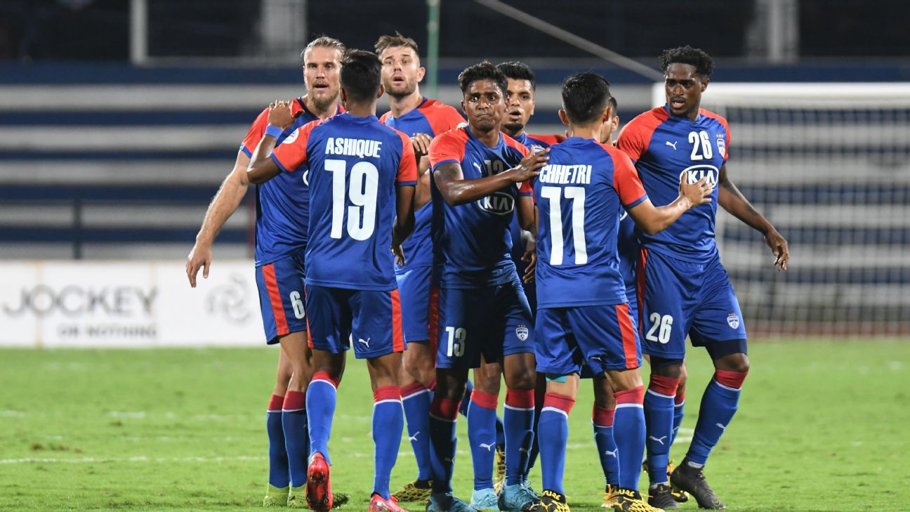 Bengaluru FC failed to make it to the AFC Cup group stages last season after losing to Maziya in the playoffs.