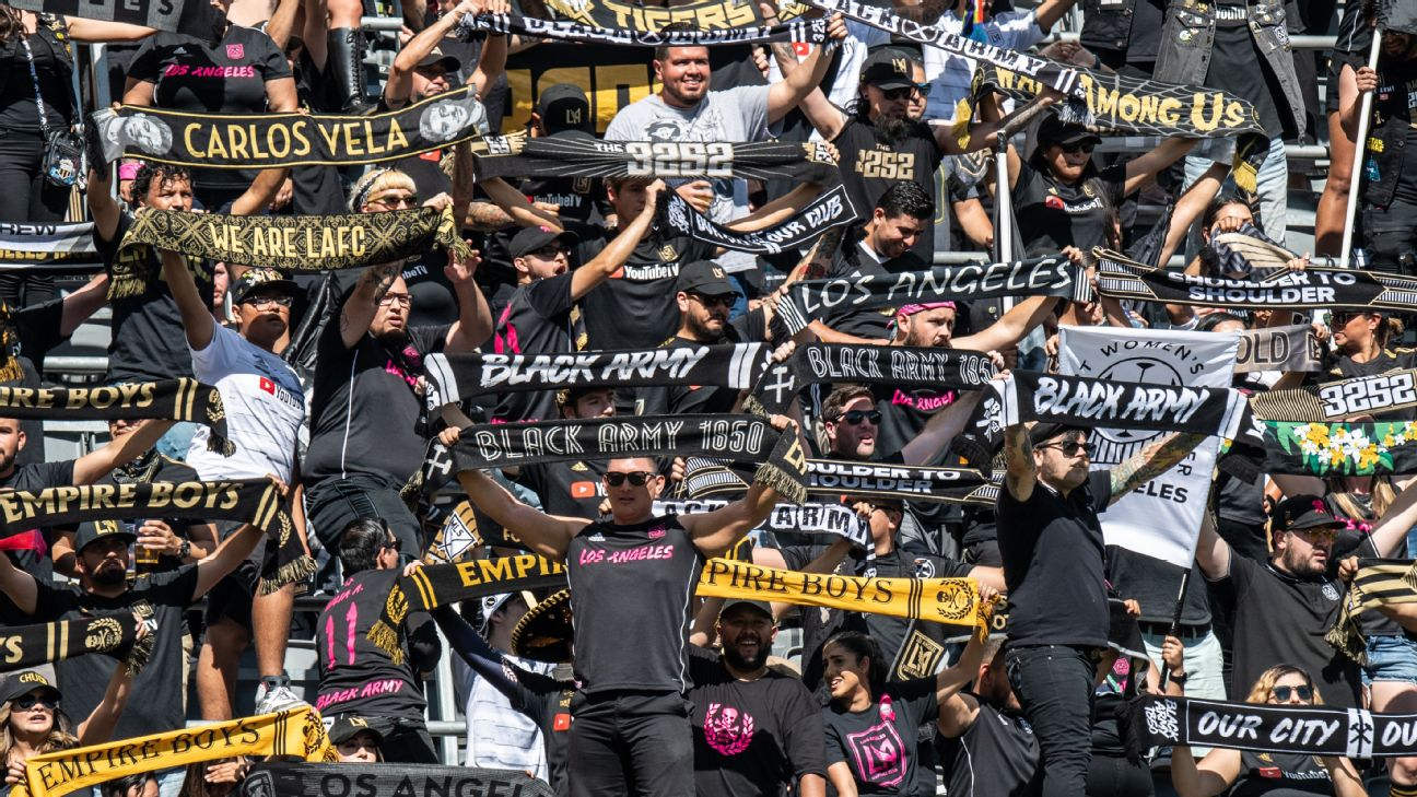Los Angeles FC's supporters