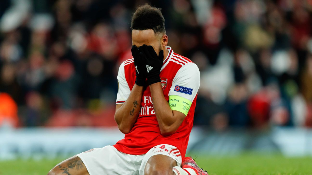 Aubameyang on missed chance in Arsenal loss - Very very hard
