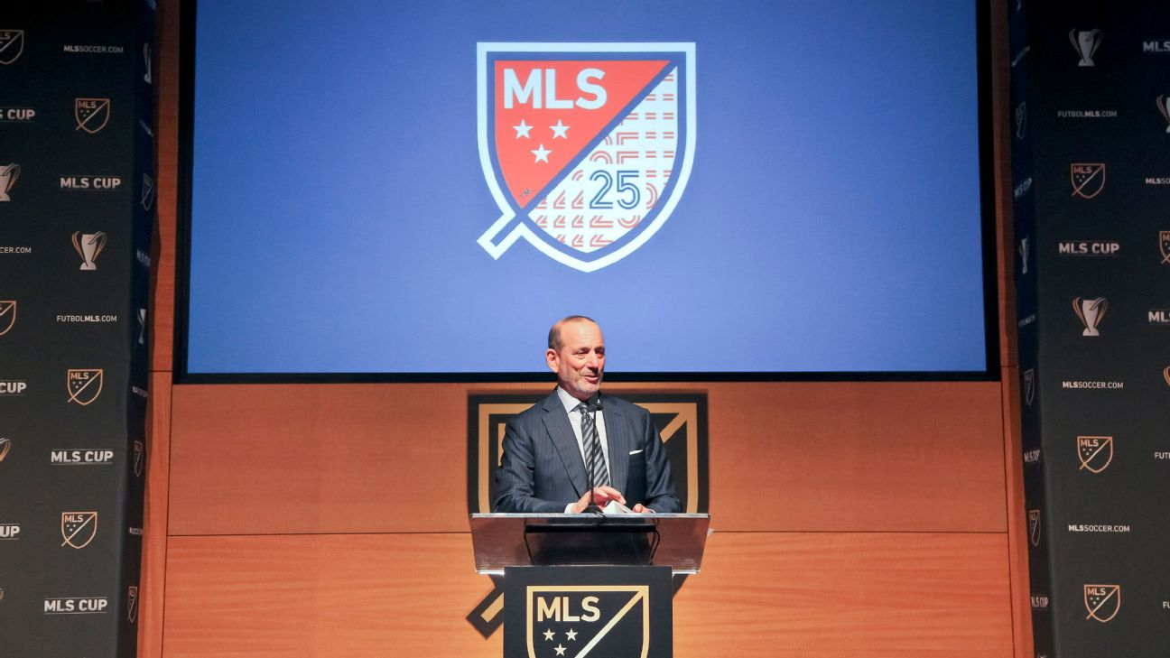 Don Garber speaks ahead of the 2019 MLS Cup final.