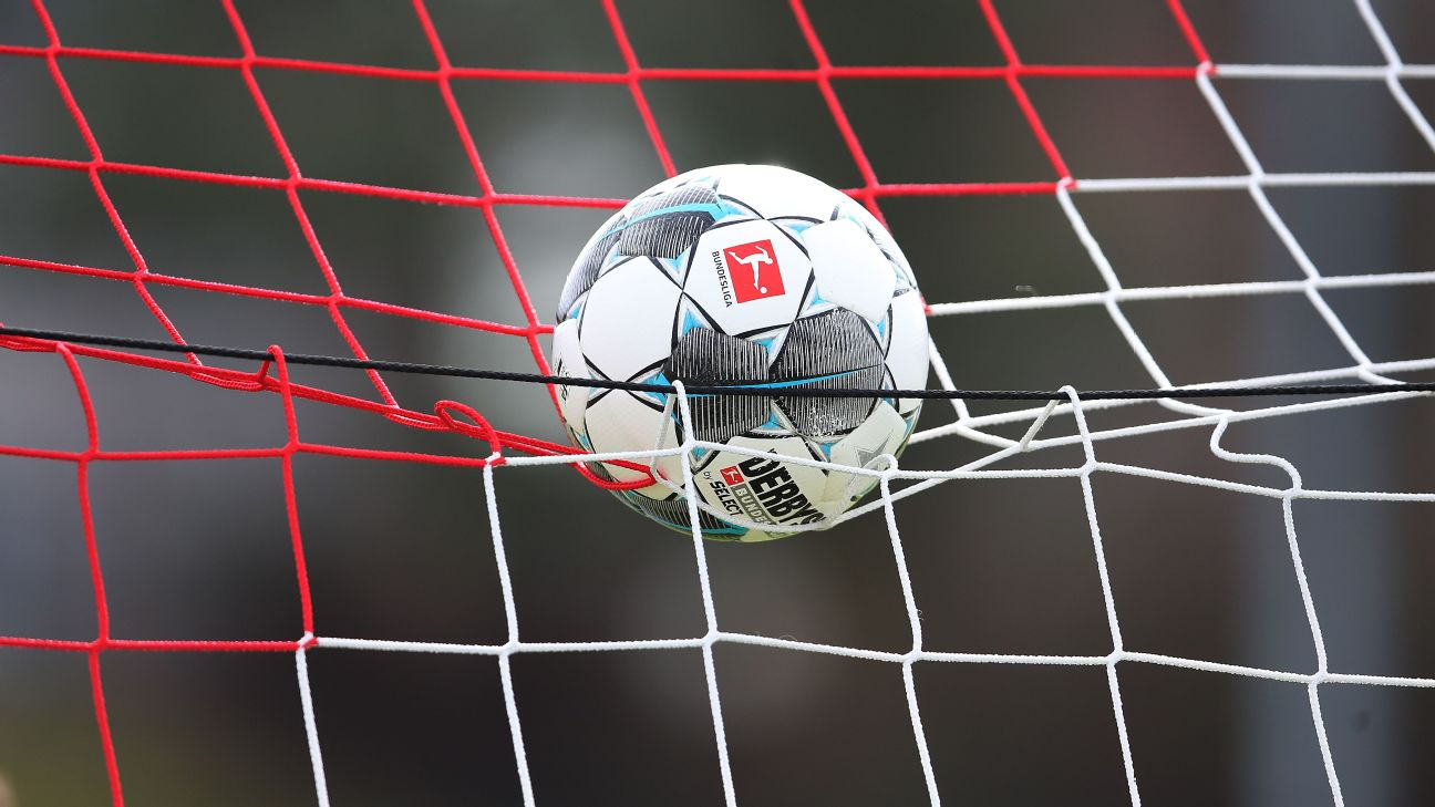 The official Bundesliga matchball