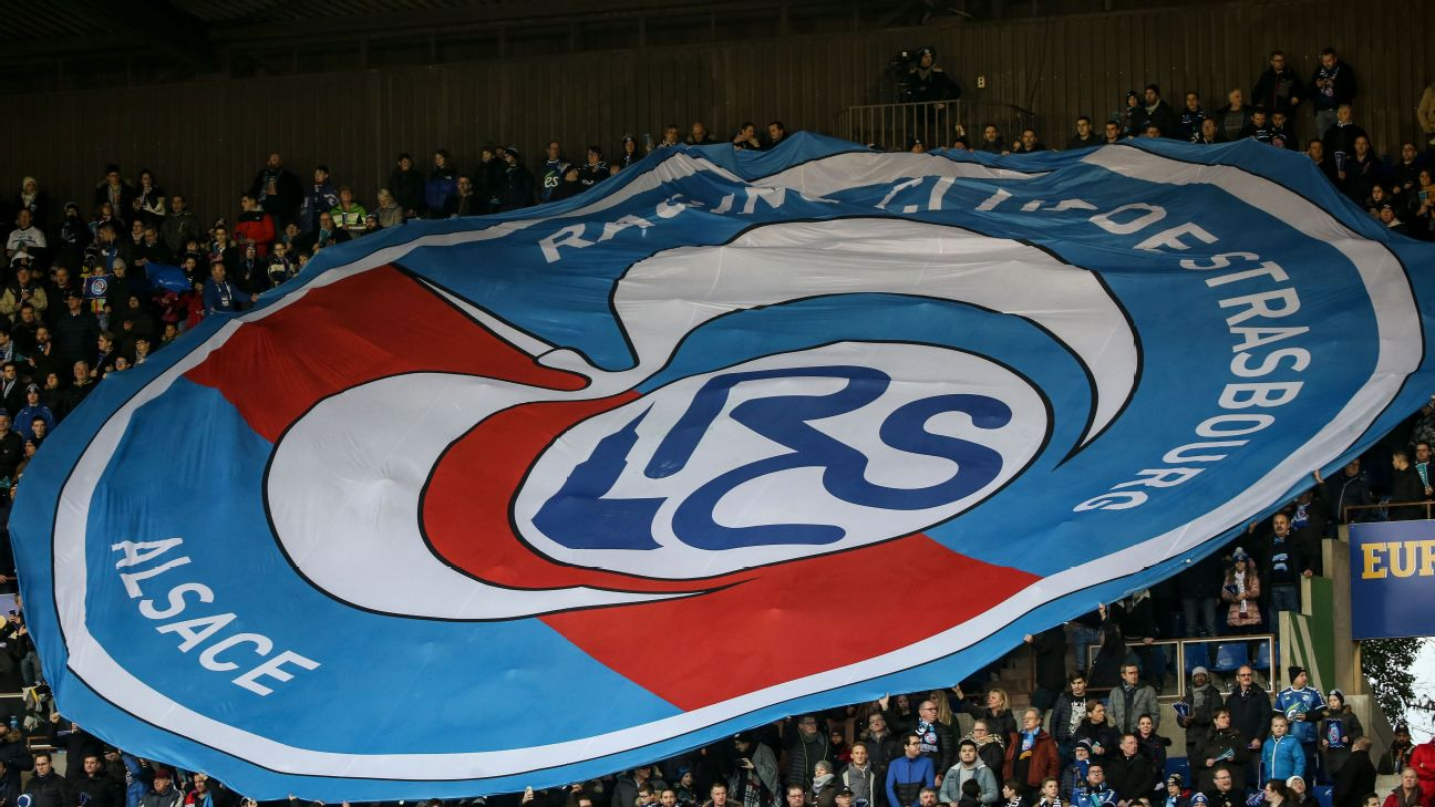 The Ligue 1 match between Strasbourg and PSG in the Alsace region has been postponed.