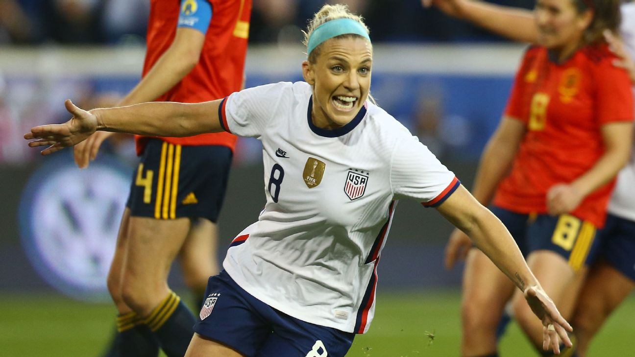 Ertz finally solved Spain with a header off a Christen Press free kick for the game's only goal.