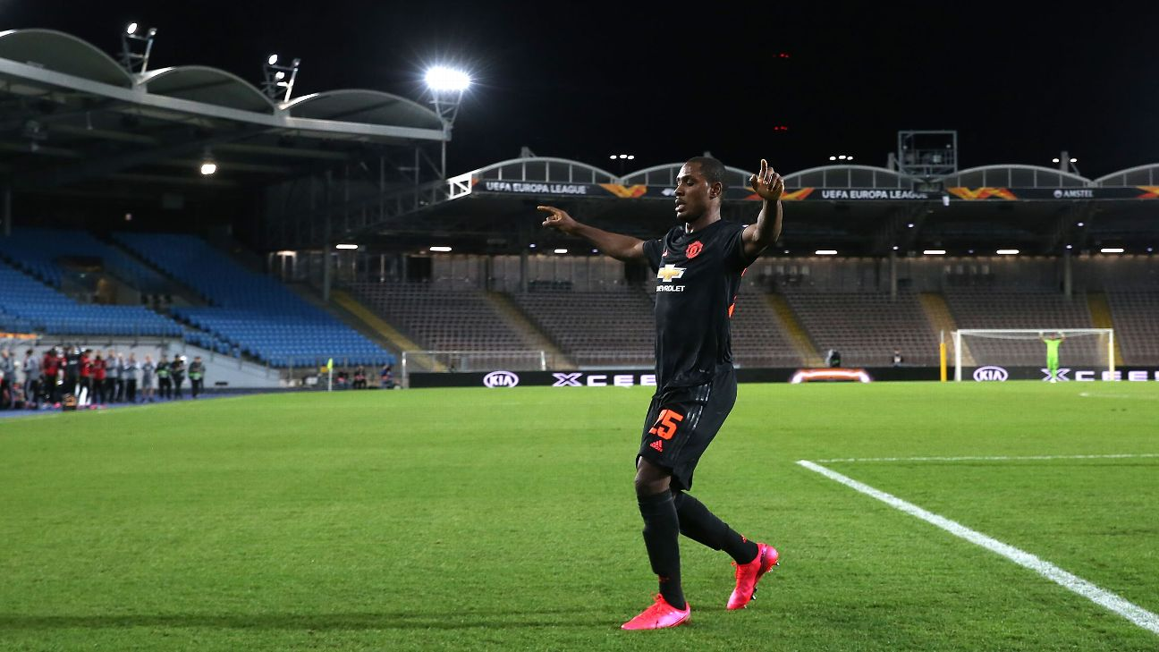 Odion Ighalo scored his best goal for Manchester United to date in front of an empty stadium.