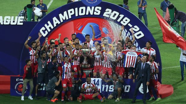ATK have become the first team in Indian Super League (ISL) history to have won three finals.