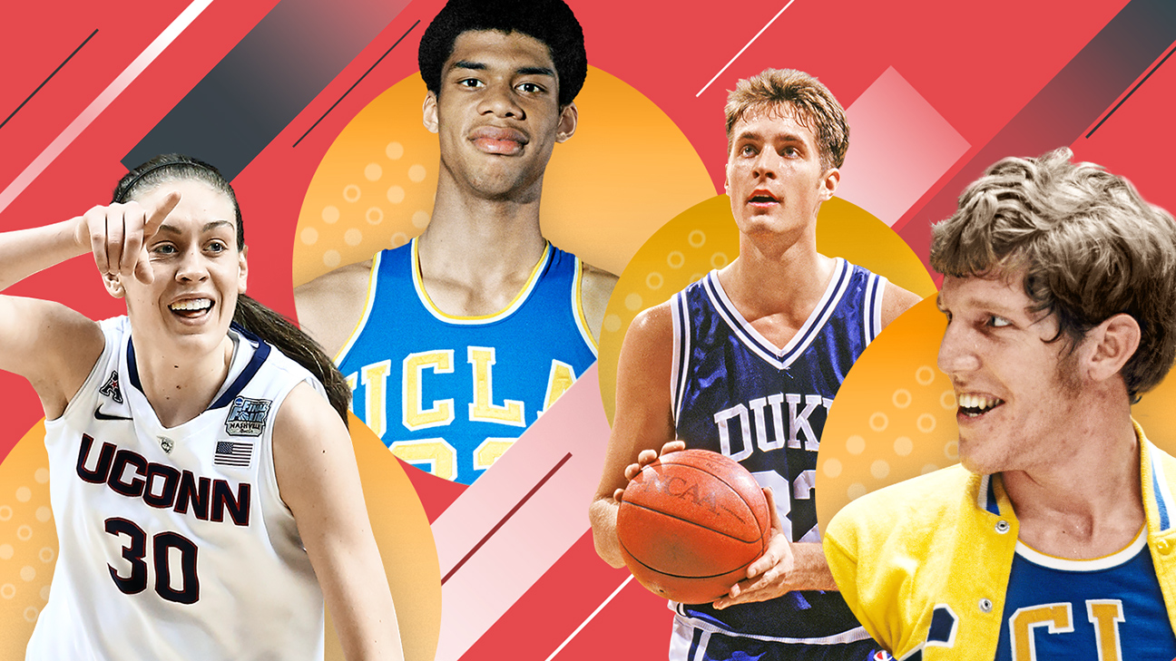 Introducing College Basketball S Greatest Of All Time Bracket