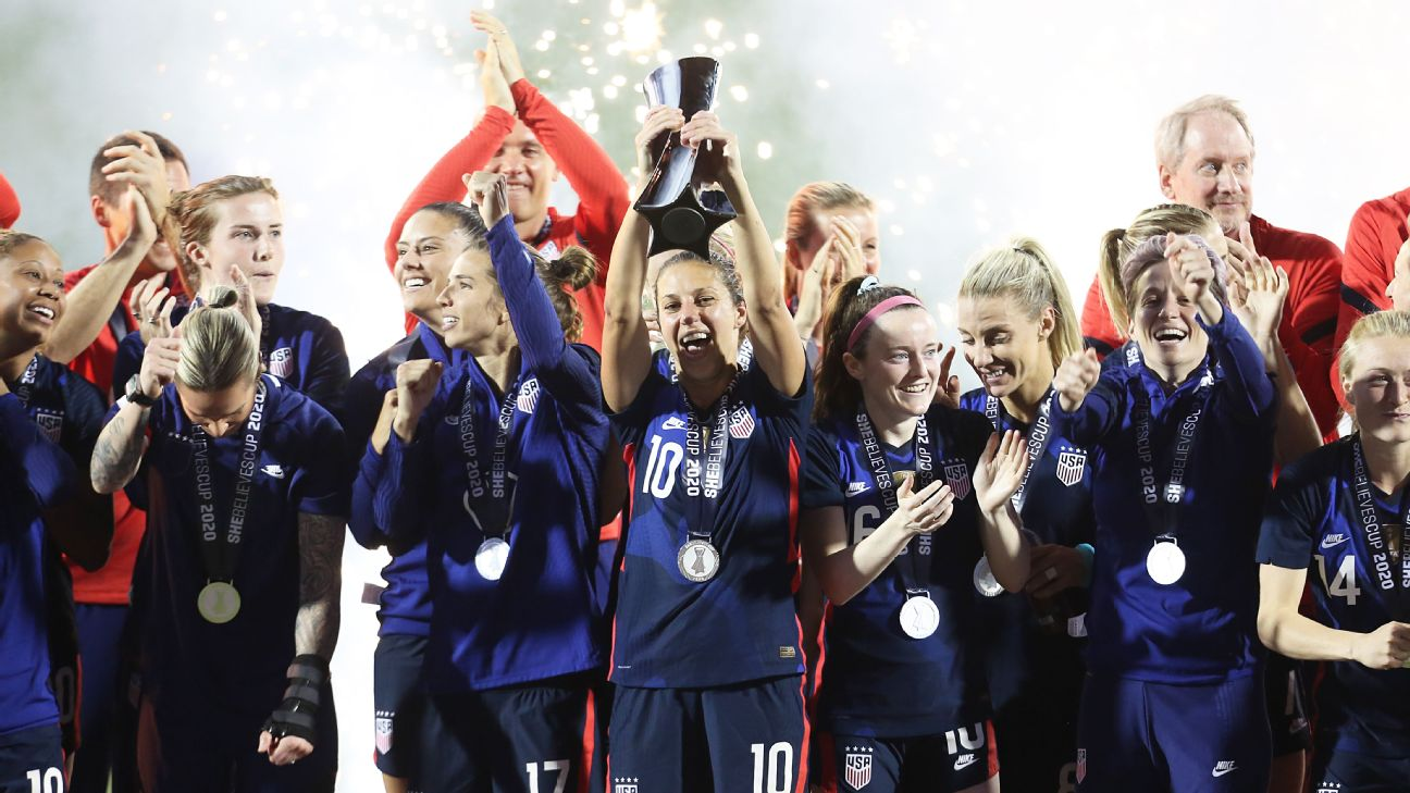 The United States women's national team continues to beat the best the world but is hitting pause as the world struggles with the coronavirus pandemic