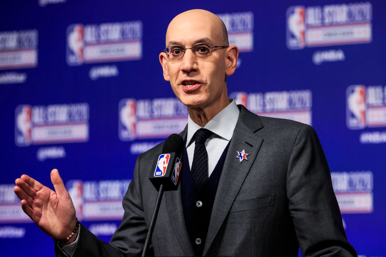 Silver: NBA won't require players to get vaccine