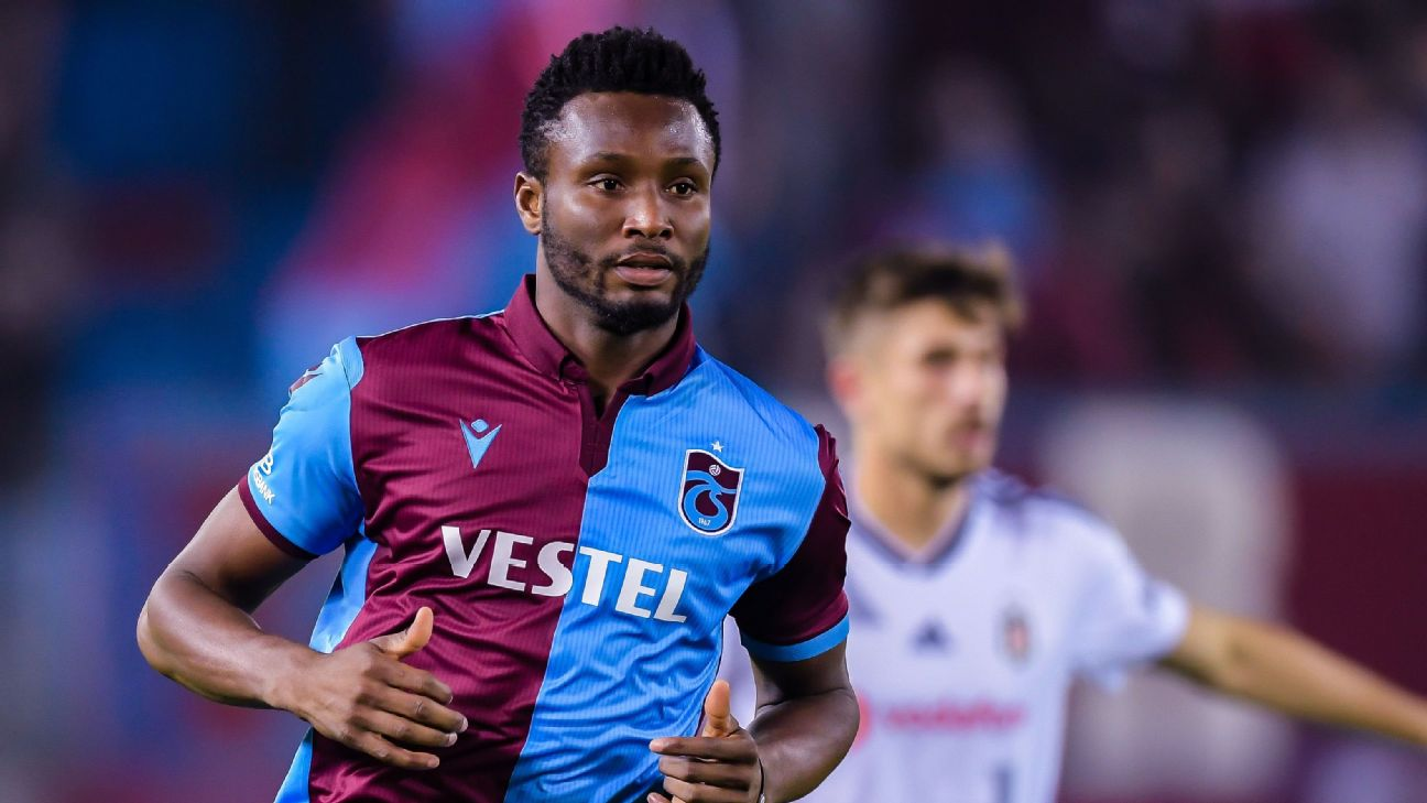 John Obi Mikel was at Trabzonspor for less than a year, arriving from Middlesborough in the summer of 2019.