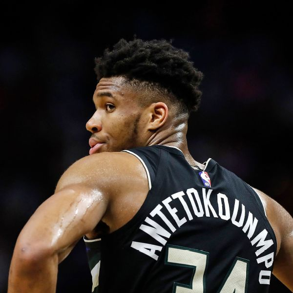 Giannis not playing basketball; no 'access to hoop'