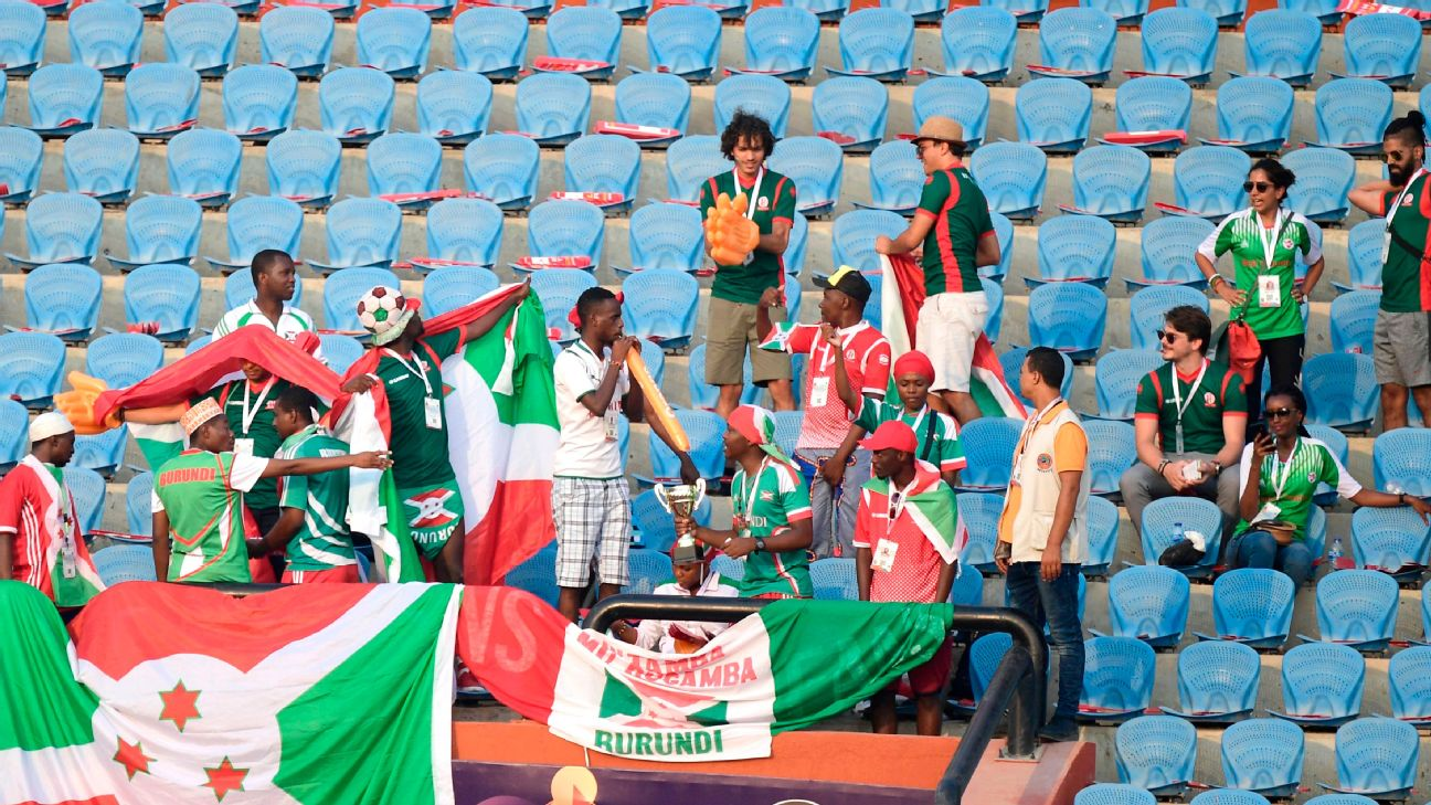 As it stands, football fans in Burundi can still attend games. Burundi is the only African country that still has live sports, in the face of the coronavirus pandemic.