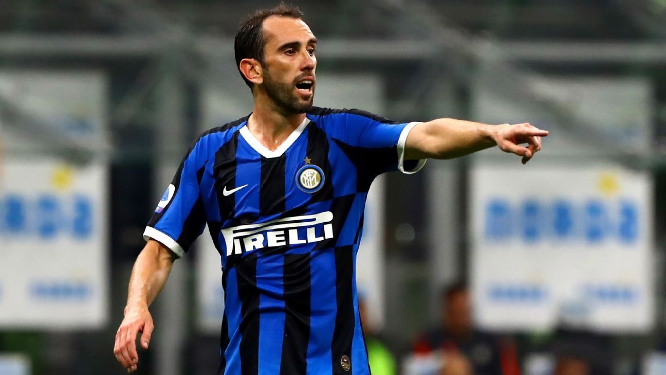 Diego Godin said he and his Inter teammates continued to practice through the initial stages of the coronavirus outbreak in Italy until Juve produced Serie A's first positive test.
