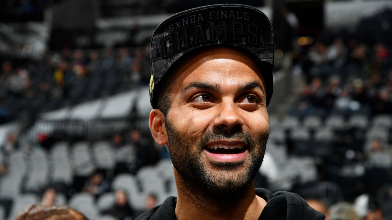 NBA Legend, Tony Parker