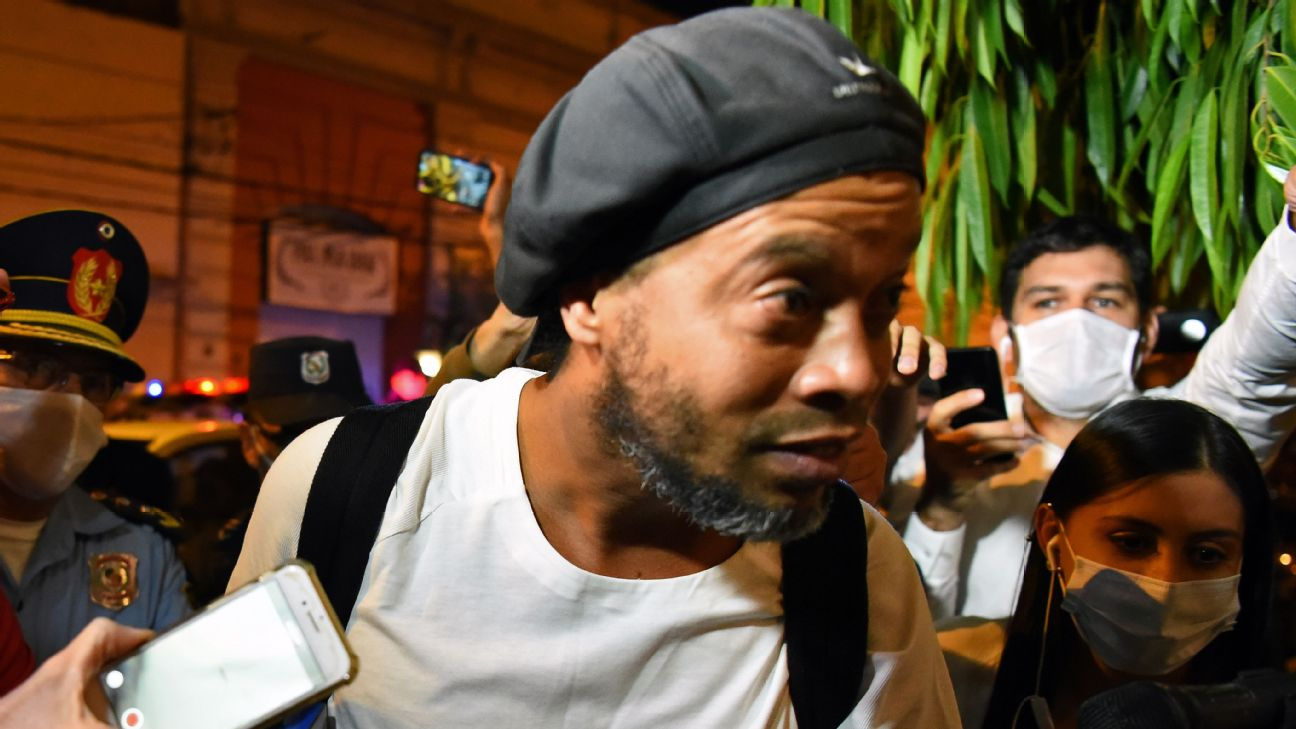 Ex Barcelona And Brazil Star Ronaldinho Released From Paraguay Prison After Five Months