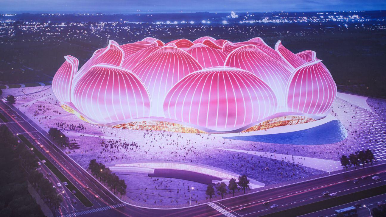Guangzhou Evergrande's new stadium