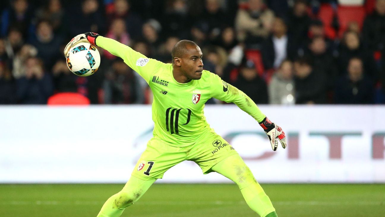 Vincent Enyeama left Lille in August 2018, after seven seasons.